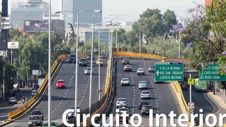 Ruta de manejo Circuito Interior (Cursos en vías rápidas México)