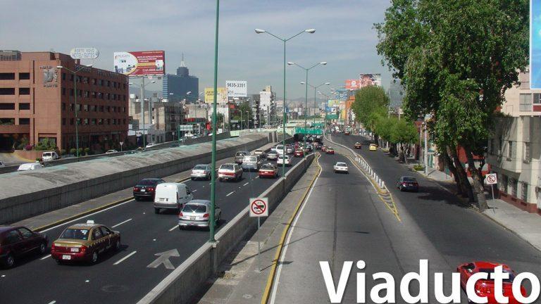 Ruta de manejo Viaducto (Cursos en vías rápidas México)