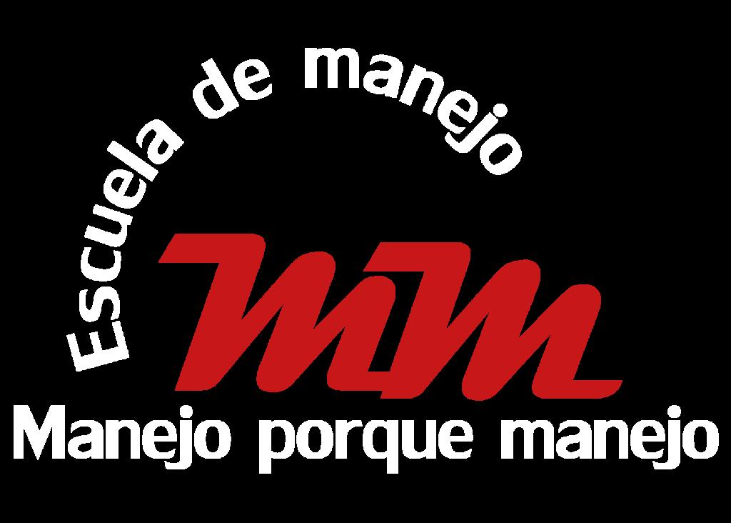 Logo Blanco con letras rojas brillantes